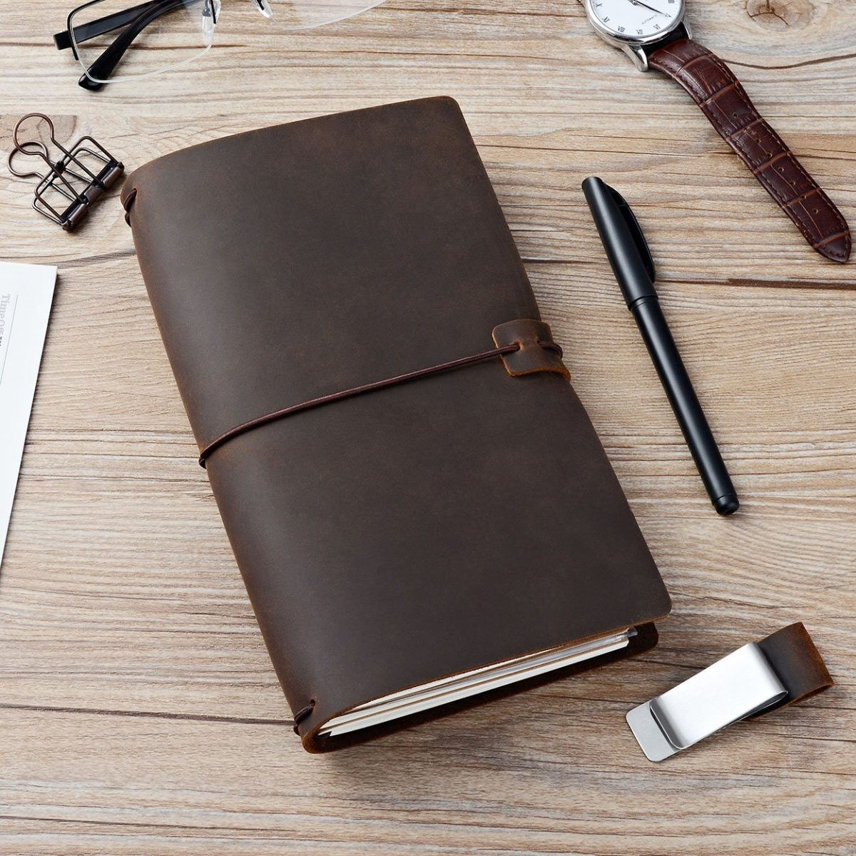 Leather Journal, Travellers Notebook, Travel Journal