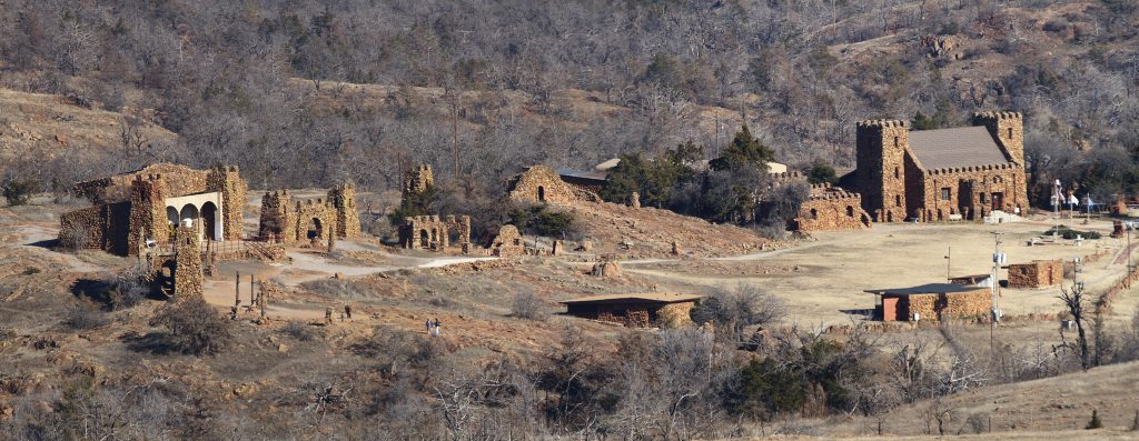 The Holy City Of The Wichitas, Oklahoma