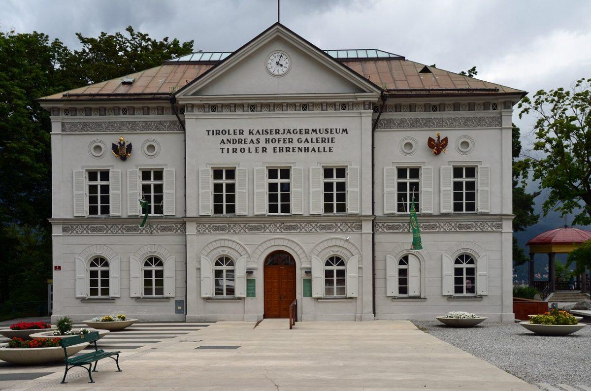 White museum building