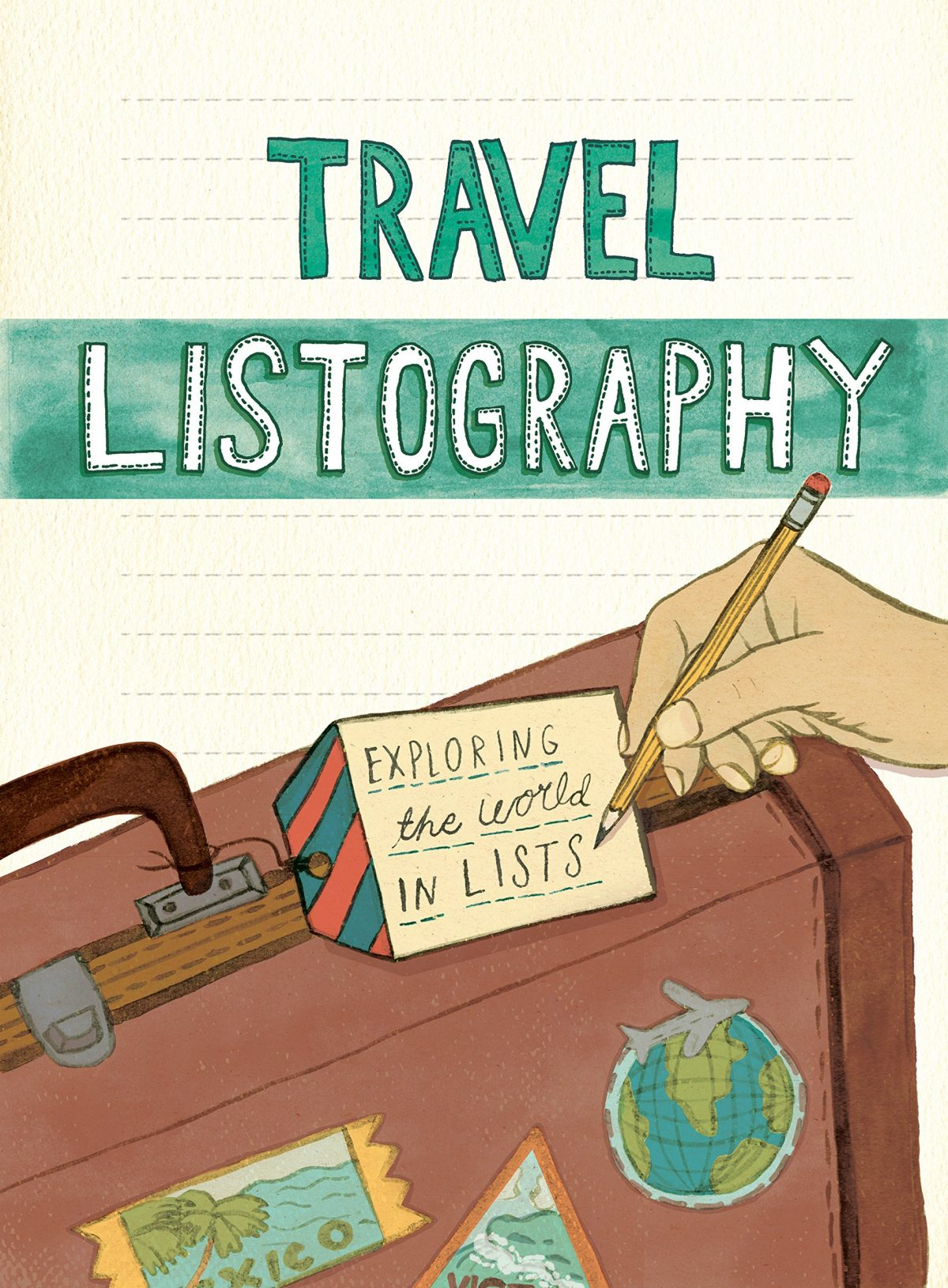 Travel Listography, Exploring the World, Travel Journal, Cute Travel Journal