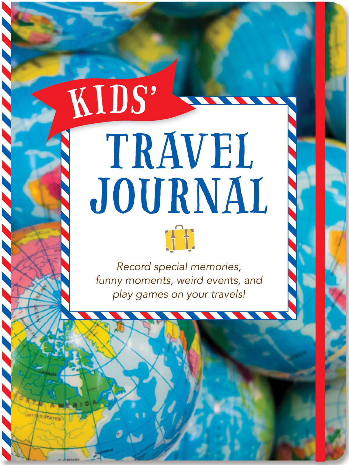 Kids' Travel Journal, Cute Travel Journal, Travel Journal