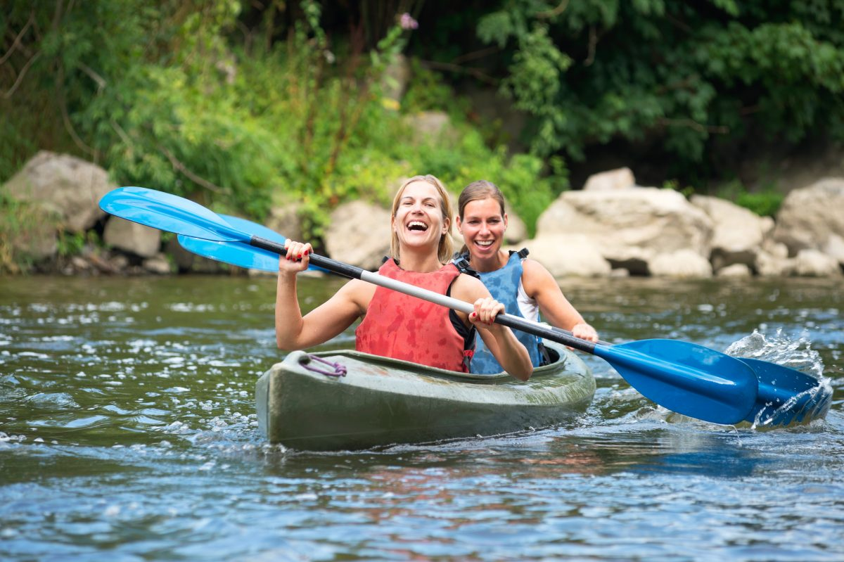 For something a little more fast-paced, head to Adventure Activities Sussex for a day of paddle-boarding, archery and kayaking