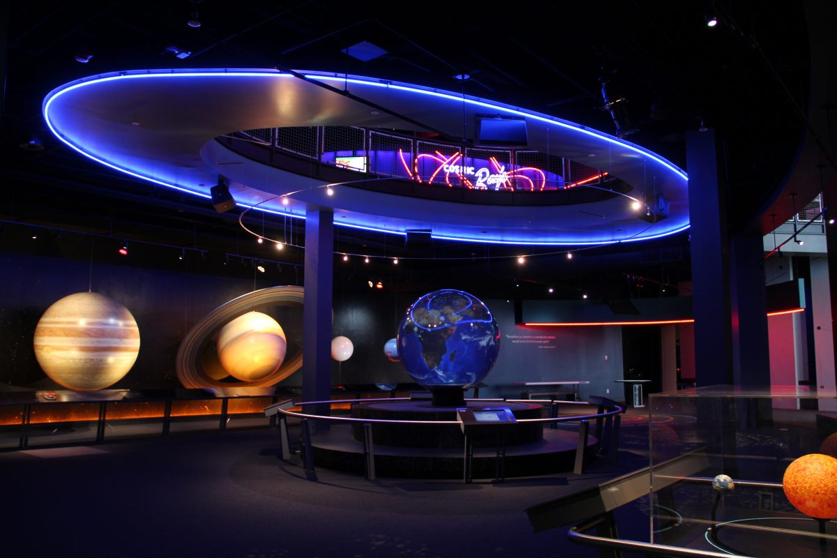Delight them with a trip to the Adventure Science Center which features more than 175 hands-on exhibits