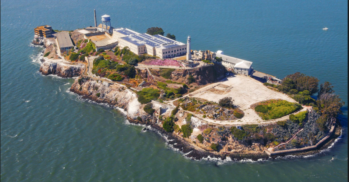 The island of Alcatraz is an iconic landmark of San Francisco
