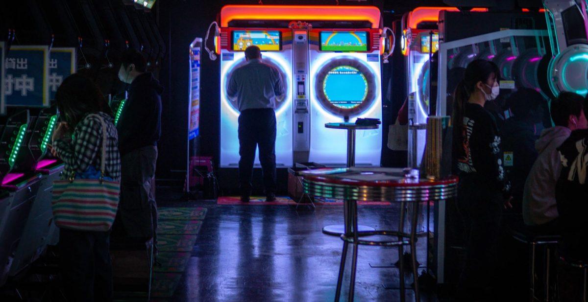 Tokyo night arcade