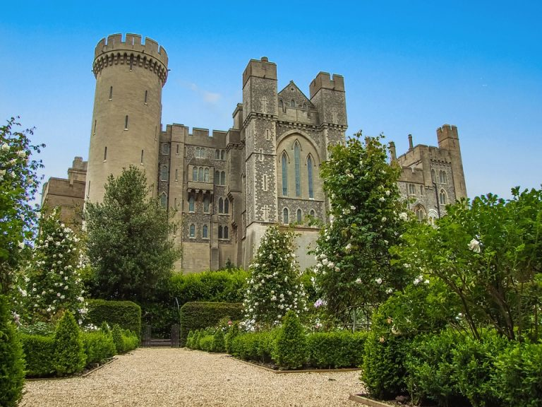 The Stunning Gardens at Arundel Castle
