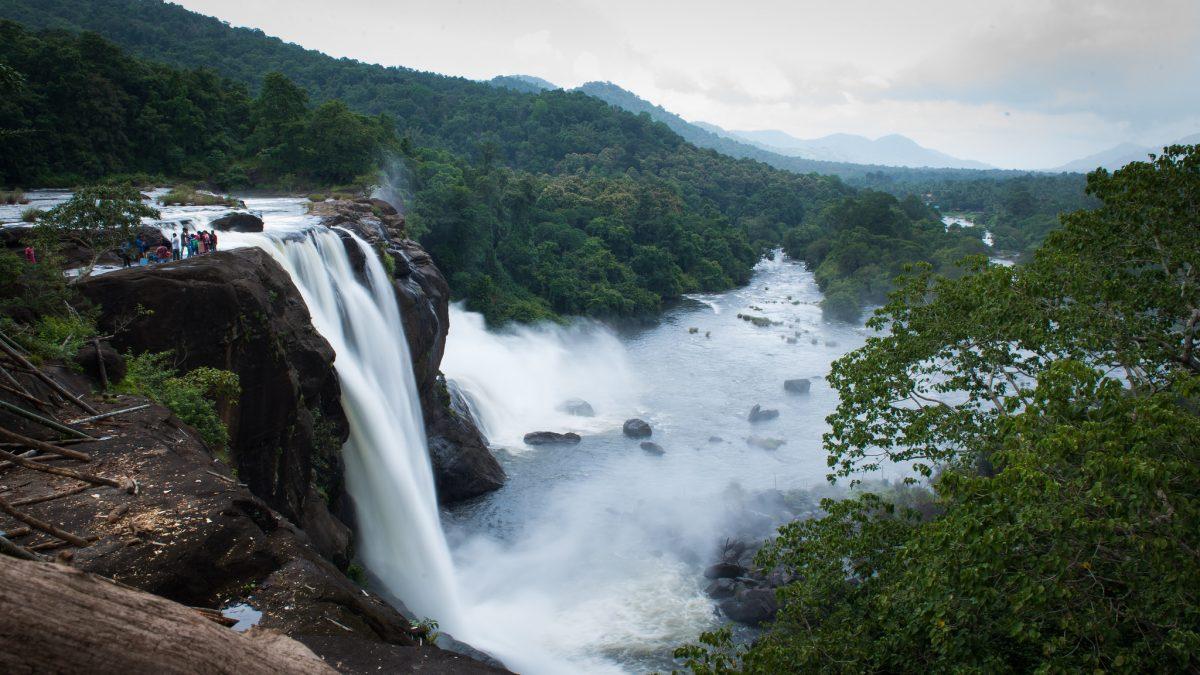Athirapally waterfalls Thrissur
