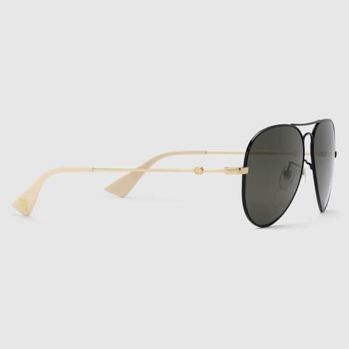 Aviators Gucci Sunglasses