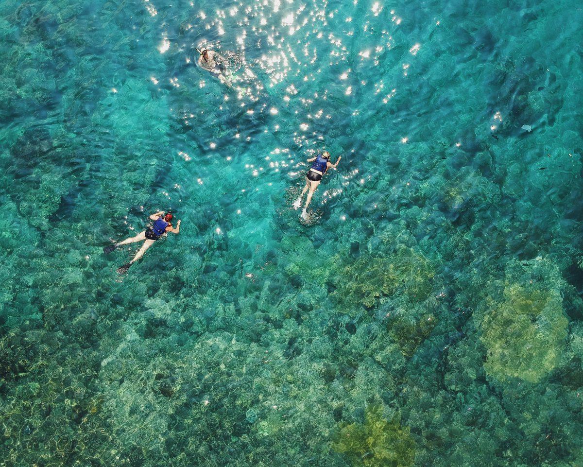 Clear Water in Padang Bai
