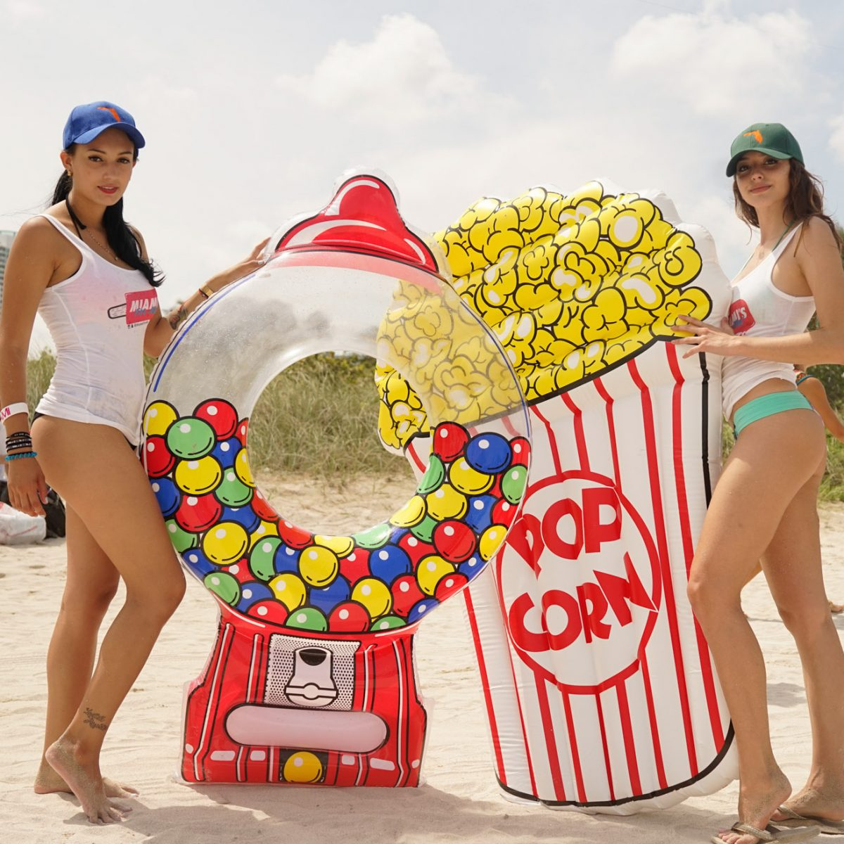 BigMouth Inc Gumball Machine Popcorn Pool Float IRL 2 - The Best Pool Floats For Kids And Kids At Heart