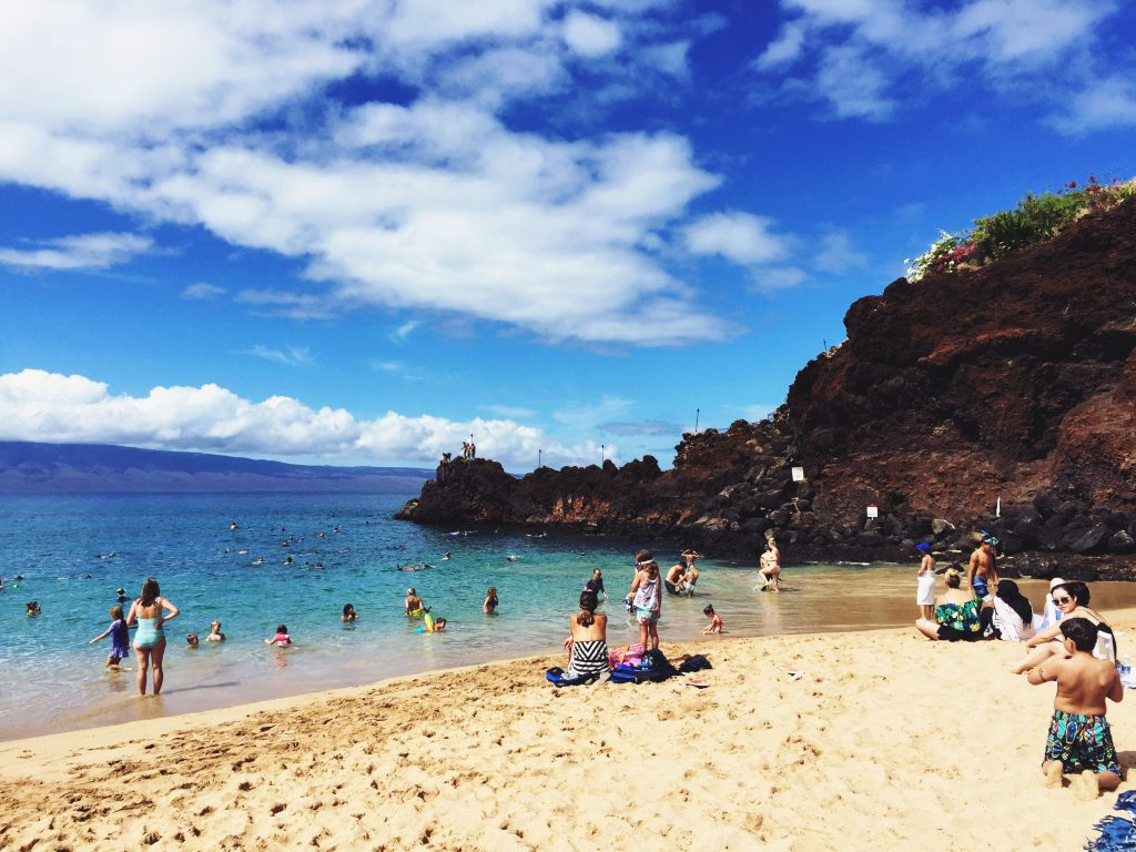Beautiful Black rock, Maui
