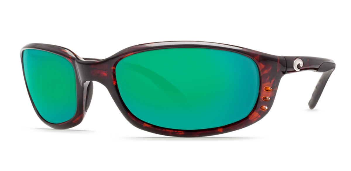 Enjoy a trendy and modern look with the slight square frame of the Brine sunglasses