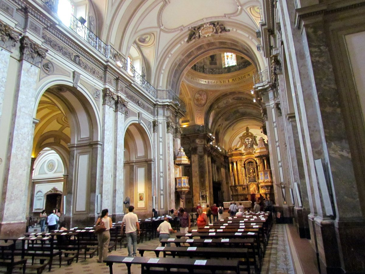 Buenos Aires Metropolitan Cathedral 6 - 15 Must-See Landmarks in Buenos Aires, Argentina