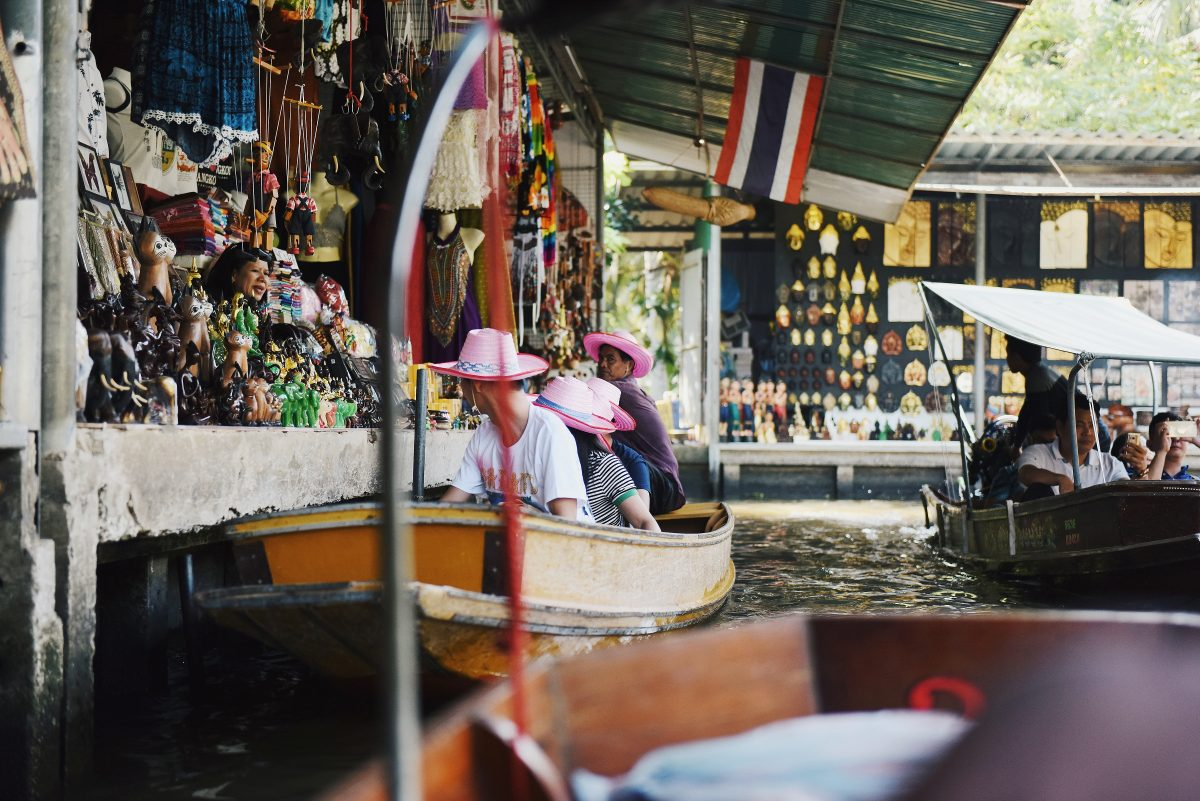 Busy day at Bang Phli