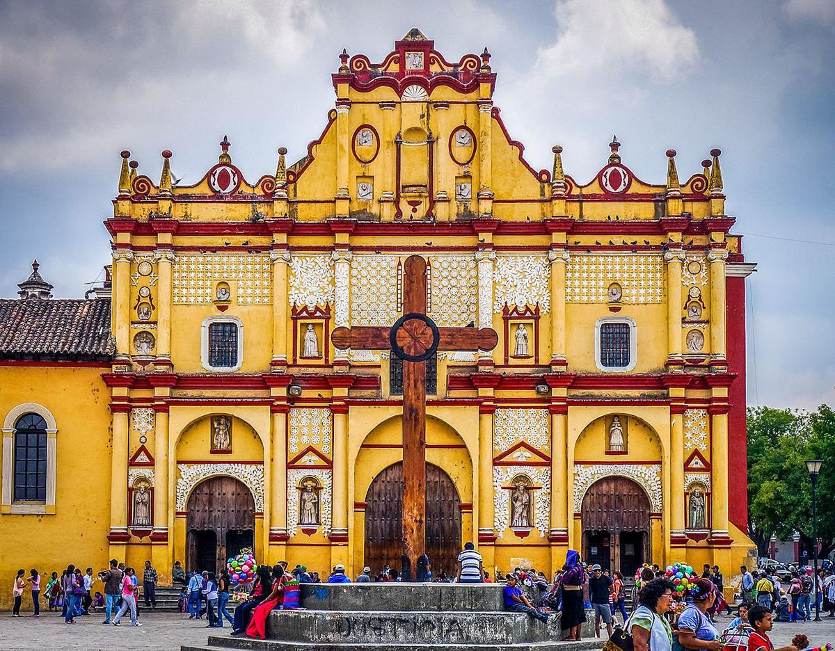 San Cristobal, Cathedral, Chiapas