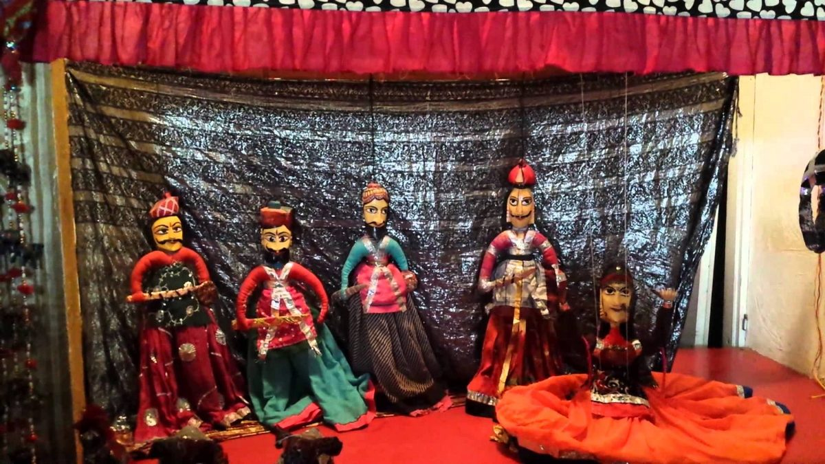 Chokhi Dhani puppet shows