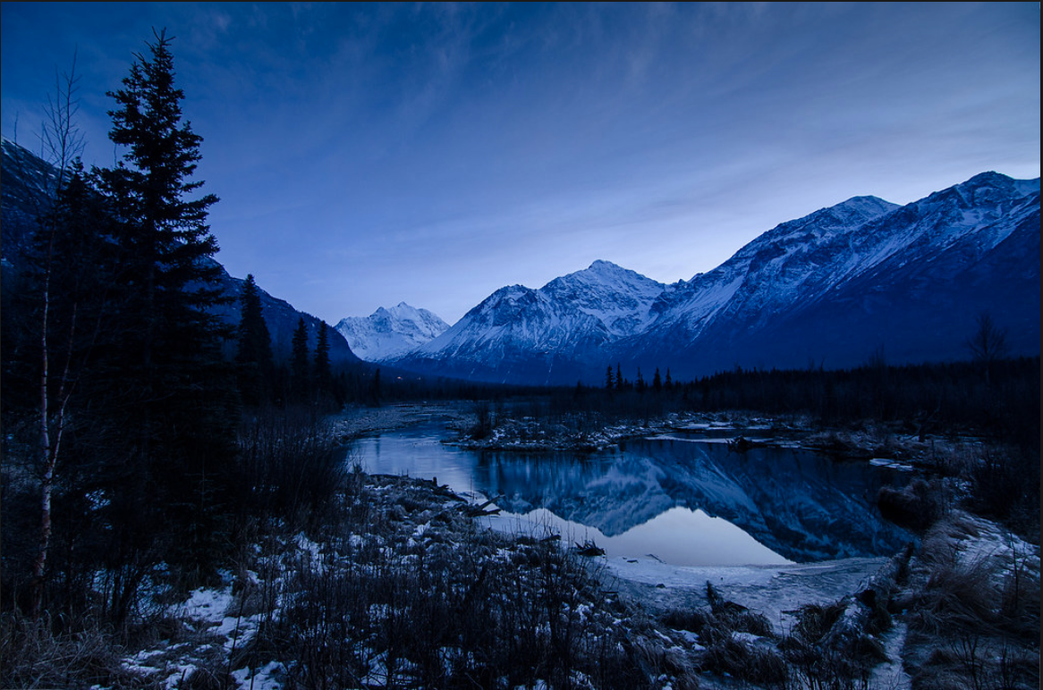 Established as a park in 1970, Chugach State Park was created to provide recreational activities, protect the scenic value of the Chugach Mountains and ensure the safety of the water supply for Anchorage.