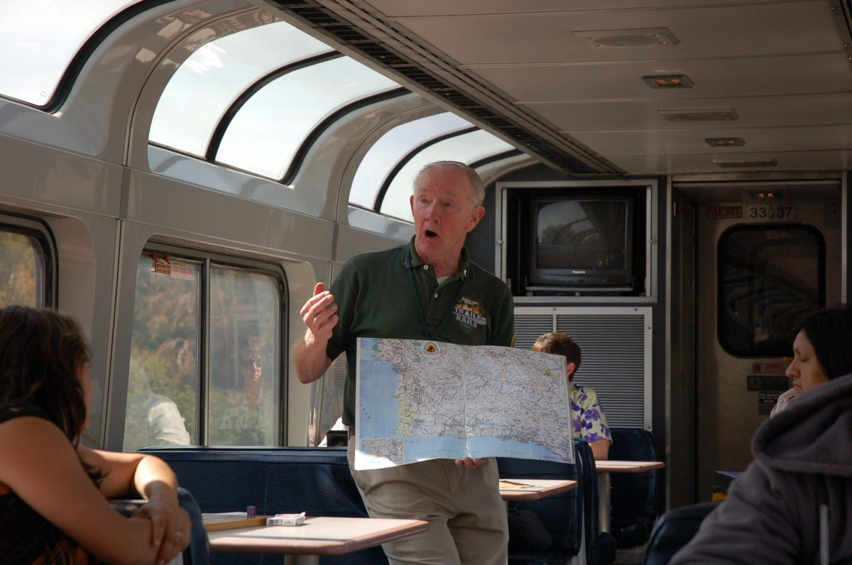 Amtrak Coast Starlight, Trails and Rails, National Park Guide