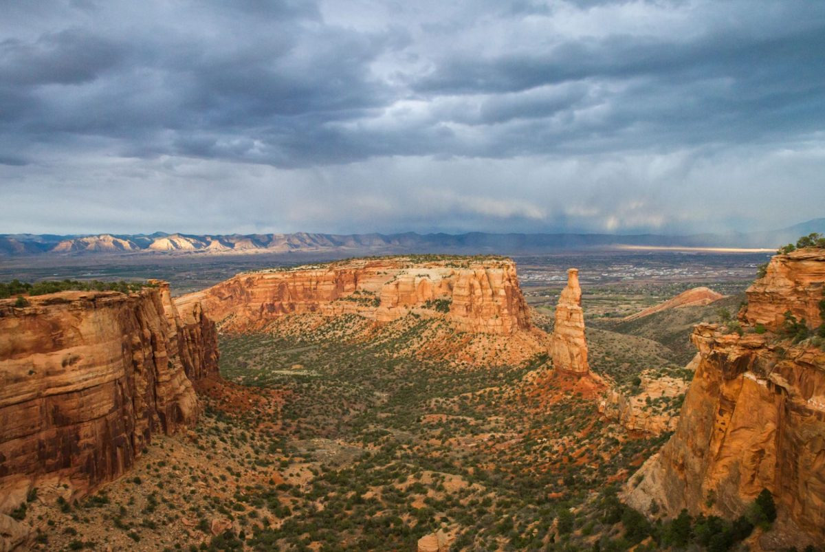 Panoramic view of Colorado National Monument