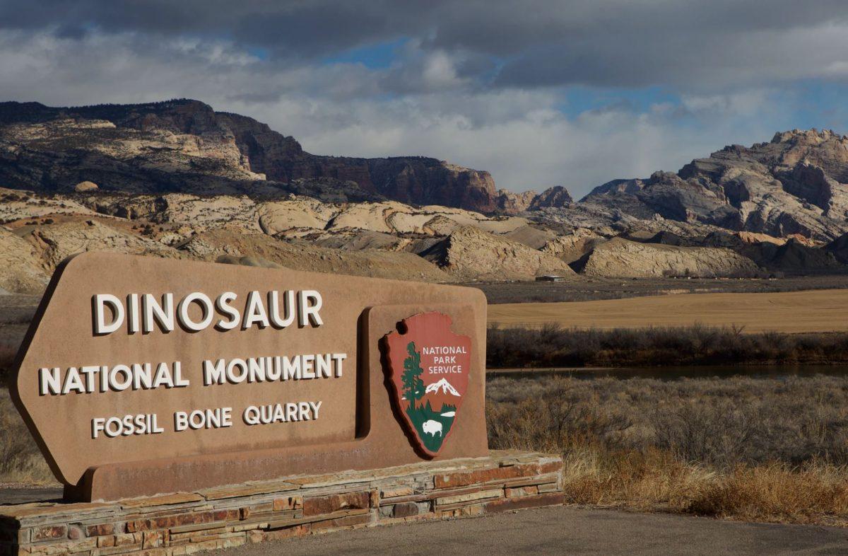 Dinosaur National Monument Entrance