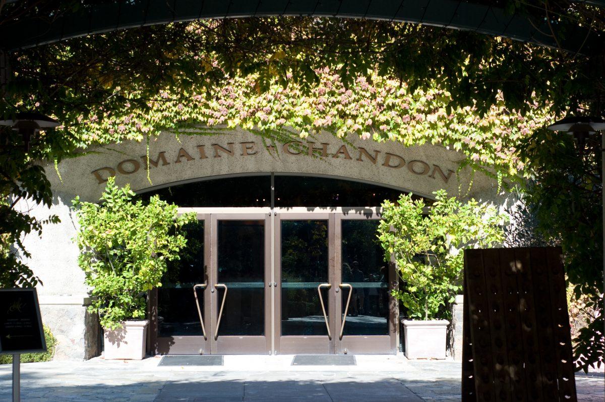 Domaine Chandon, Estate Tour