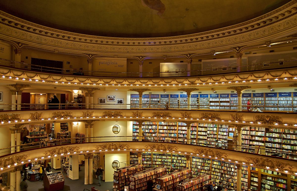 El Ateneo Bookstore - 15 Must-See Landmarks in Buenos Aires, Argentina