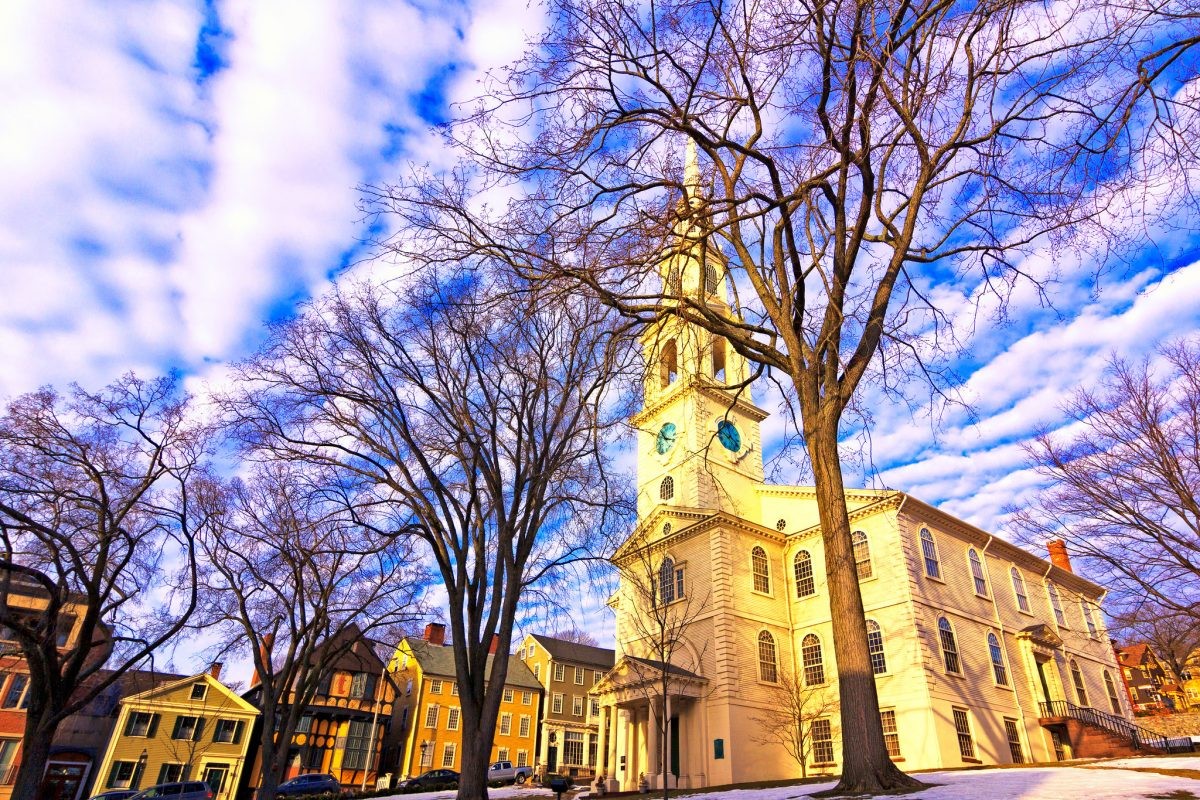 Built in 1775 as a Baptist Meetinghouse, this church became the First Baptist Church in America.