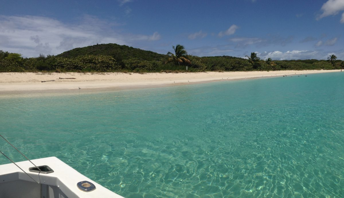 Located in the municipality of Culebra, Flamenco Beach is known for its shallow turquoise waters and white sand beaches.