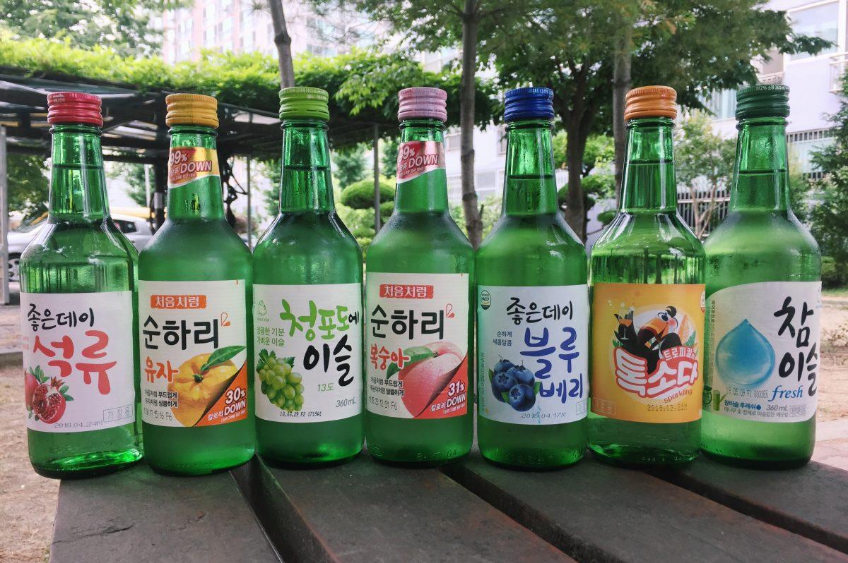 Flavoured Soju, Korea, National Drink