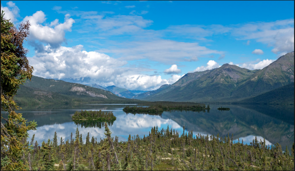 The Gates of the Arctic National Park and Preserve is the second largest national park in the United States.