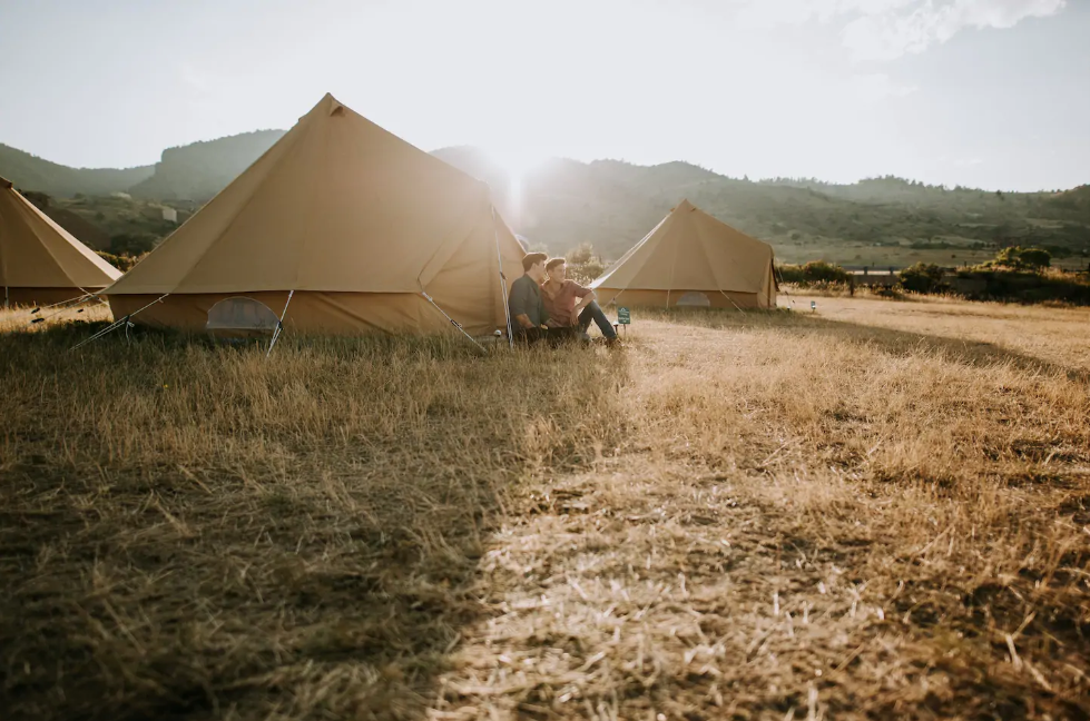 Airbnb Denver, Camping Luxury Tent