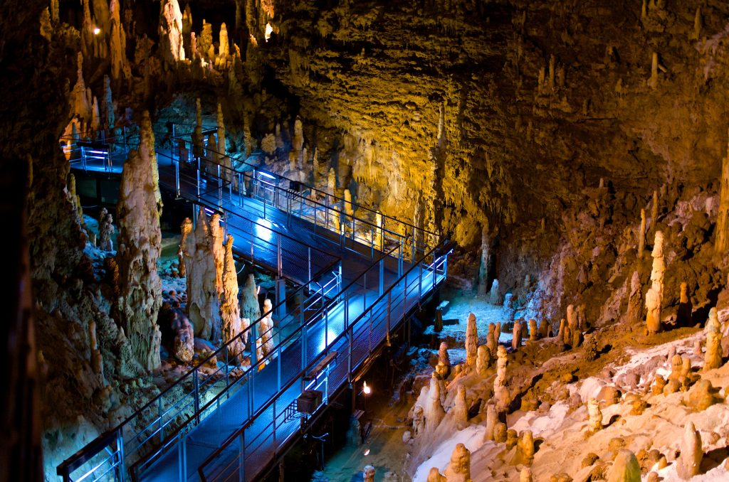 Okinawa World's main attraction is the 300,000-year-old Gyokusendo Cave.