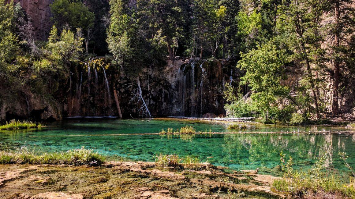 The Beautiful Hanging Lake of Colorado
