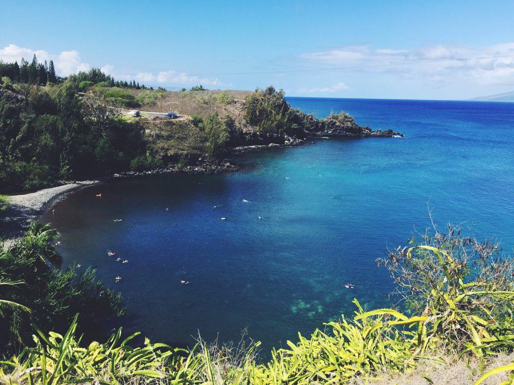 Beautiful Honolua Bay in Maui