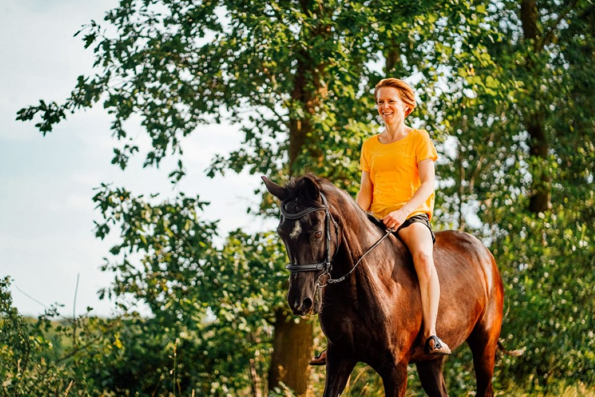 Enjoy a leisurely yet thrilling horse-riding experience on the Belvoir Estate