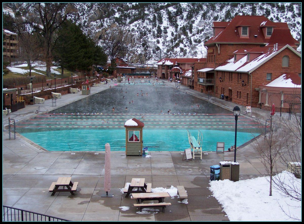 Giant Pool at Glenwood Springs