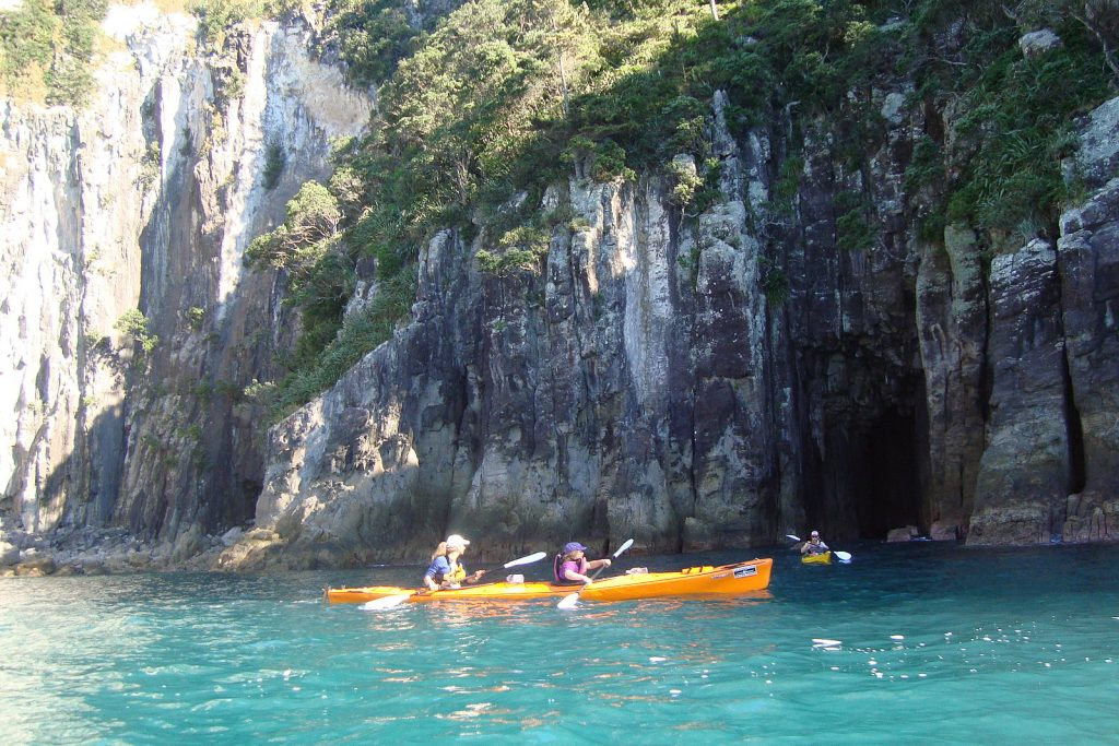 Kayaking Goat Island