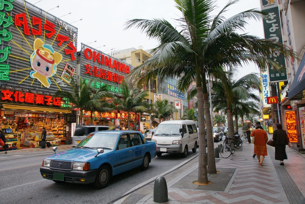 Naha's main shopping and entertainment district, Kokusaidori is a must-visit for any visitor to Okinawa Island