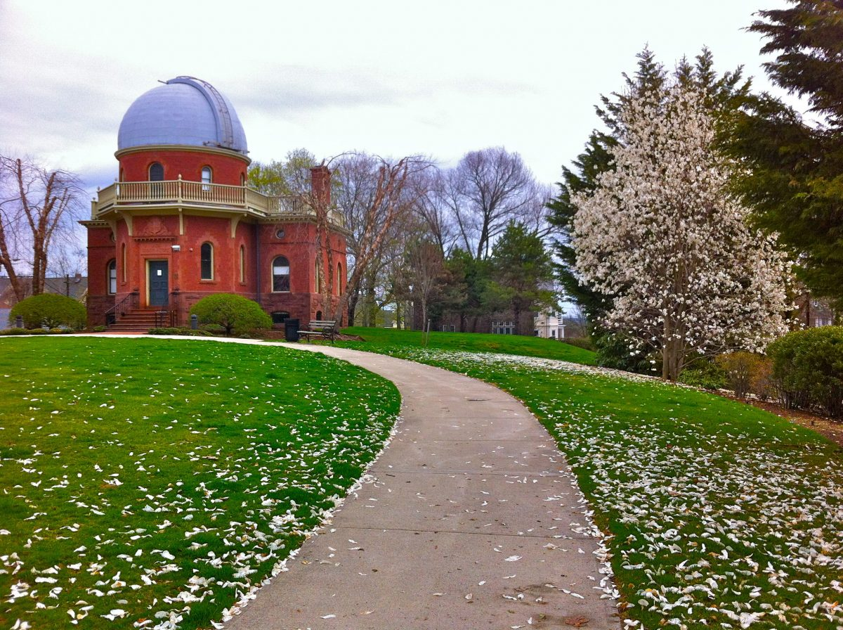 The Ladd Observatory is managed by the physics department of Brown University. It's one of the oldest observatories in the United States.