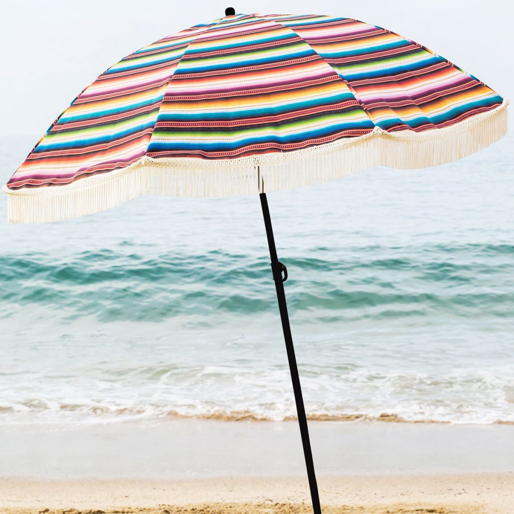 "Beach Umbrella, ""Las Brisas"" Designer Umbrella"