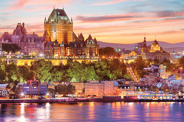 Chateau Frontenac, Canada, Hotel, Stay, Trip, Vacation