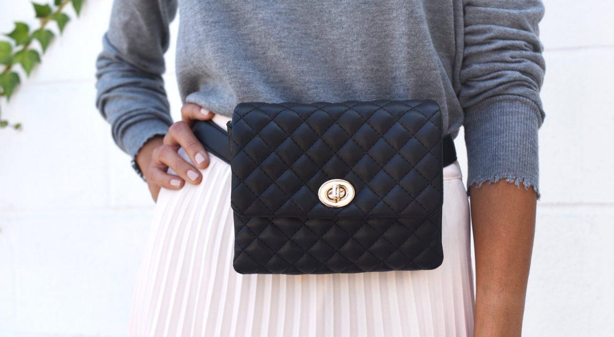 Mali + Lily Belt Bag, Vegan Leather Bags