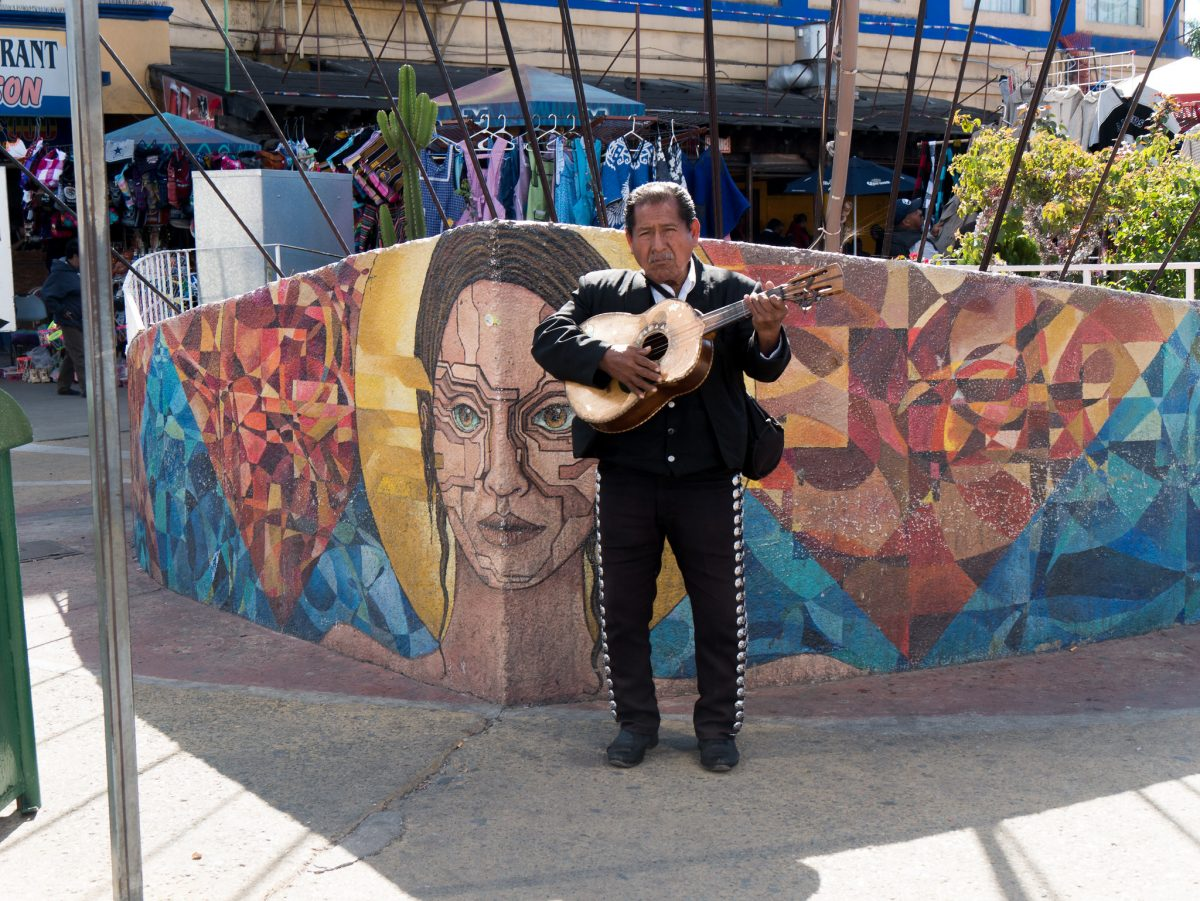 Plaza Mariachi Music City is a special setting where you can enjoy Latin American cuisine and live music