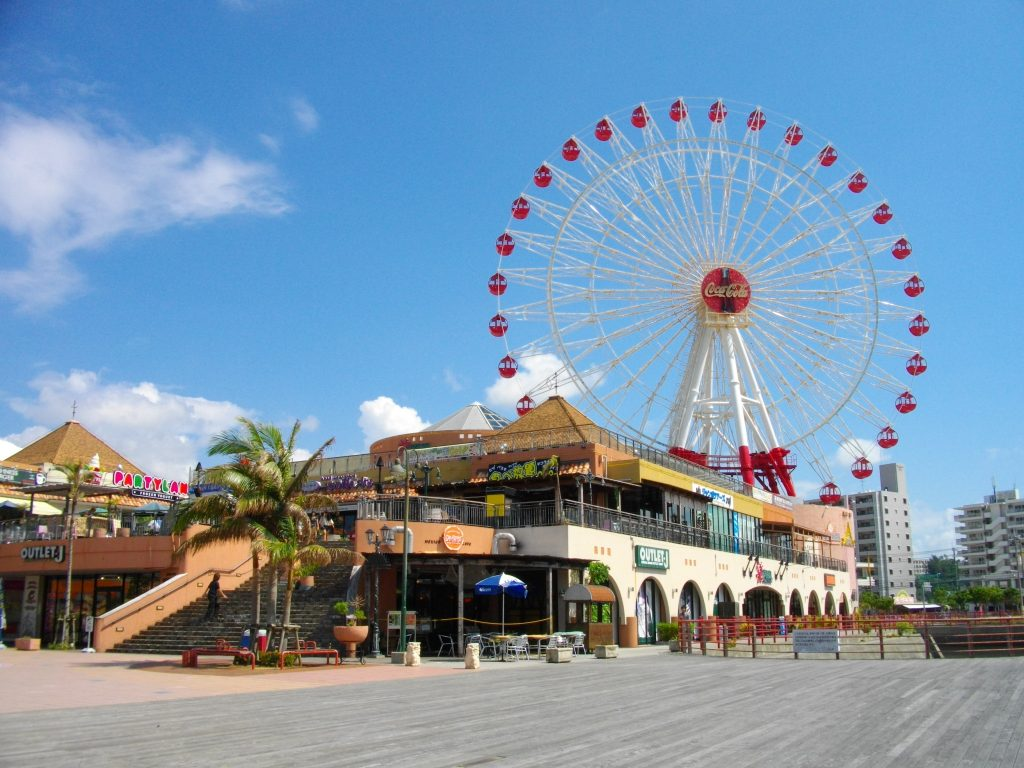Mihama American Village, an entertainment complex made to resemble a typical American town