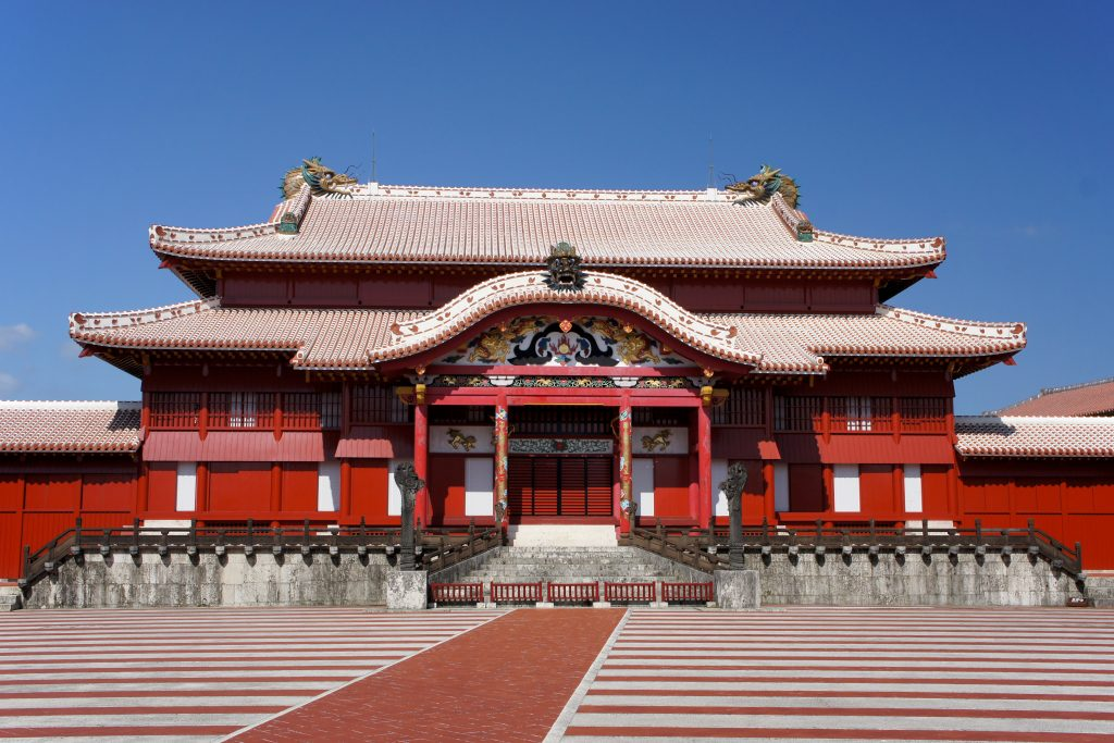 Shuri Castle once served as the royal palace of the Ryukyu Kingdom