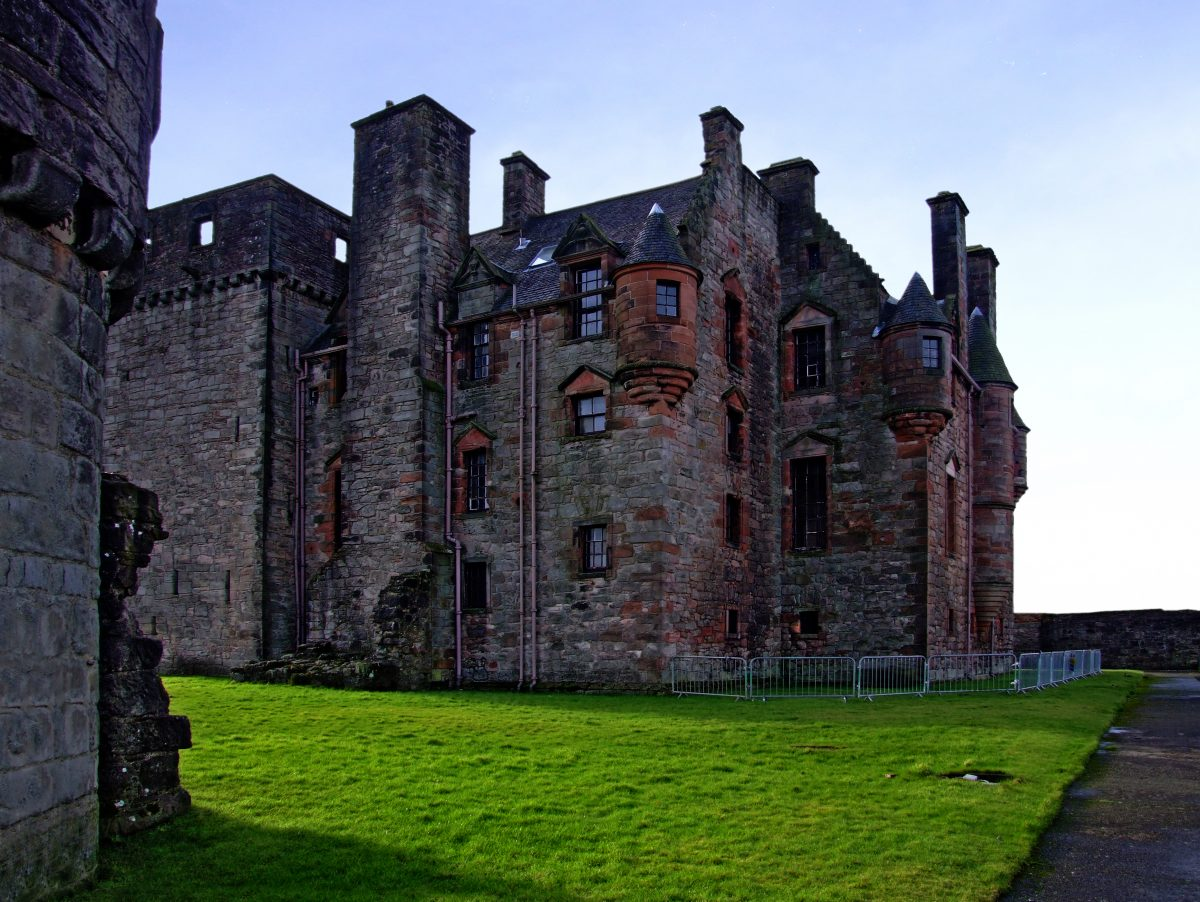Located in Port Glasgow, Newark Castle is one of the most well-preserved castles in all of Scotland.