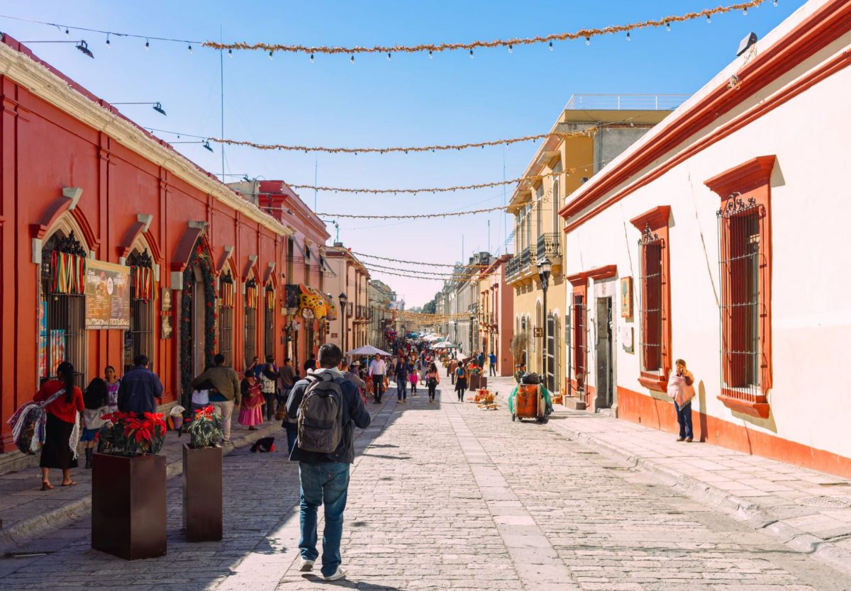 Oaxaca ancient city in Mexico