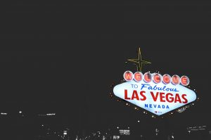 Airbnb Las Vegas, Welcome to Las Vegas signboard