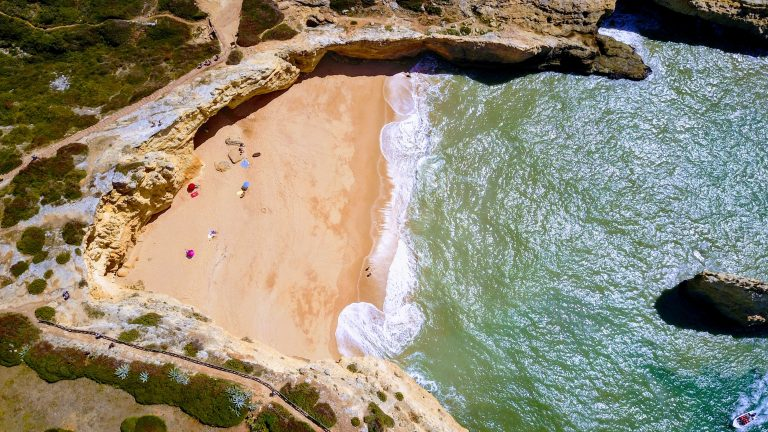 Carvoeiro from above