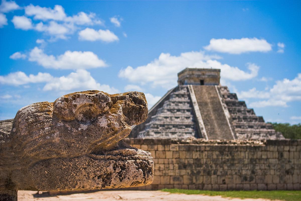 Mayan Ruins In Cancun